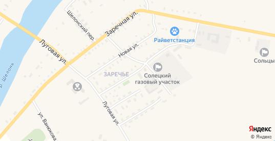 Юбилейная улица в Сольцах с номерами домов на карте. Спутник и схема онлайн