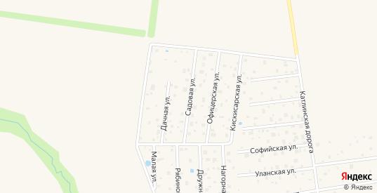 Сдт Славяночка-3 Садовая улица в Павловске с номерами домов на карте. Спутник и схема онлайн