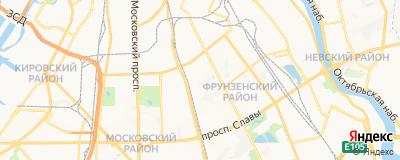 Кашаева Эльвира Ринатовна, адрес работы: г Санкт-Петербург, ул Будапештская, д 3