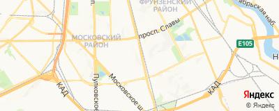 Каряева Елена Асламбековна, адрес работы: г Санкт-Петербург, ул Орджоникидзе, д 58 к 1
