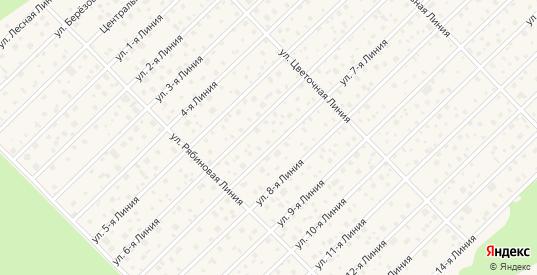 Территория сдт Звездочка в Павловске с номерами домов на карте. Спутник и схема онлайн