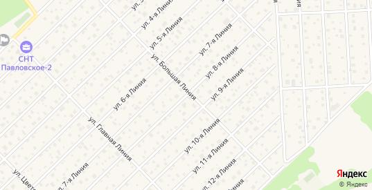 Сдт Павловское-2 8-я линия в Павловске с номерами домов на карте. Спутник и схема онлайн