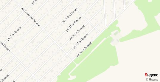 Сдт Павловское-2 13-я линия в Павловске с номерами домов на карте. Спутник и схема онлайн