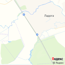 Участок для ведения КФХ вблизи посёлка Кобралово на карте