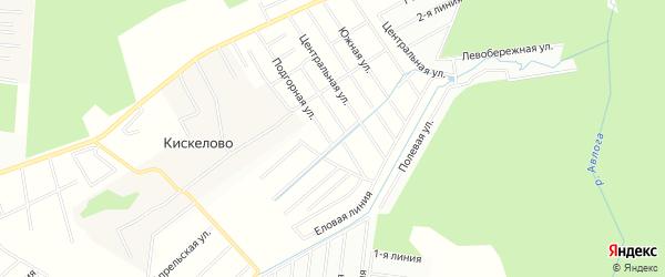 Территория днп Гранат на карте Всеволожского района Ленинградской области с номерами домов