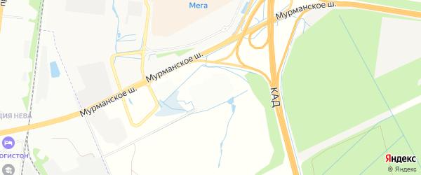 Территория 12-13 км шоссе Кола на карте Всеволожского района Ленинградской области с номерами домов