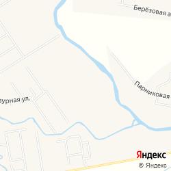 Массив со статусом ИЖС для организации коттеджного посёлка на берегу рек Ижора и Чёрная у деревни Аннолово  на карте
