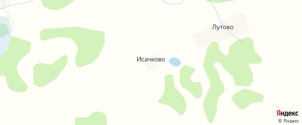 Карта деревни Исачково в Псковской области с улицами и номерами домов