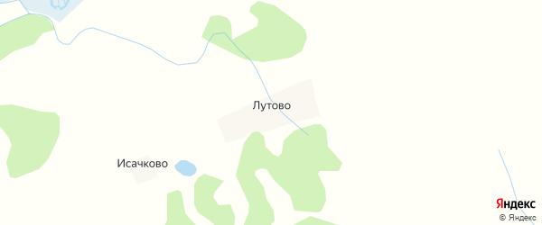 Карта деревни Лутово в Псковской области с улицами и номерами домов