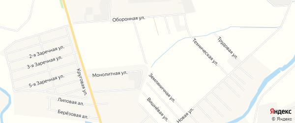 Карта территории ДНП Форносовское массива Федоровское в Ленинградской области с улицами и номерами домов