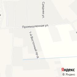 Массив под производственные объекты 4 - 5 классов санитарной опасности в посёлке Фёдоровское на карте