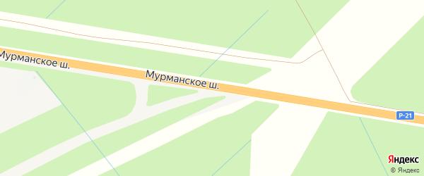 Километр Автодорога Кола 28 на карте Всеволожского района Ленинградской области с номерами домов