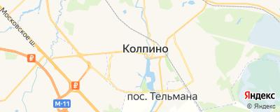 Котов Алексей Владимирович, адрес работы: г Санкт-Петербург, г Колпино, ул Коммуны, д 23