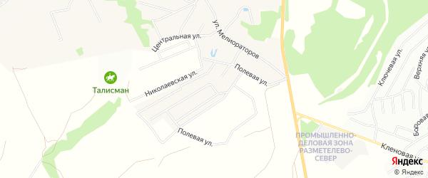 Территория днп Клубный поселок Колтуши на карте Всеволожского района Ленинградской области с номерами домов