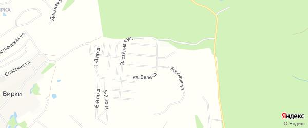 Дачное некоммерческое партнерство 7 Ручьев на карте Всеволожского района Ленинградской области с номерами домов