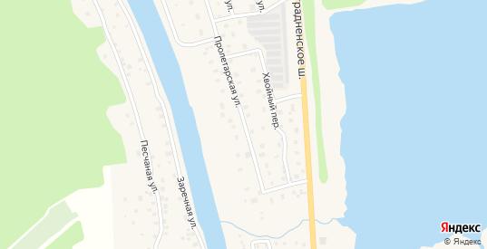 Пролетарская улица в Никольском с номерами домов на карте. Спутник и схема онлайн