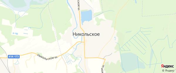 Карта Никольского с районами, улицами и номерами домов