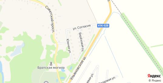 Березовая улица в Никольском с номерами домов на карте. Спутник и схема онлайн