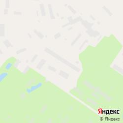 Участок промназначения со зданием в городе Никольское на карте