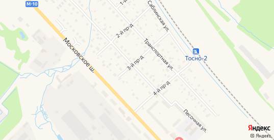 Песочная улица в Тосно с номерами домов на карте. Спутник и схема онлайн