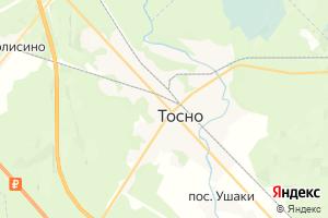 Карта г. Тосно