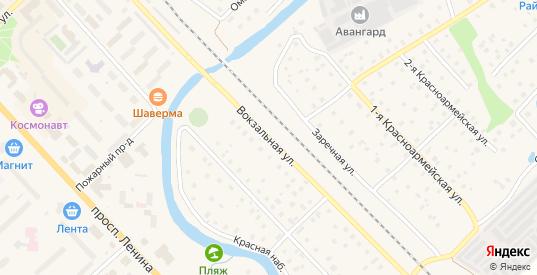 Вокзальная улица в Тосно с номерами домов на карте. Спутник и схема онлайн