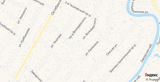 Улица Володарского в Тосно с номерами домов на карте. Спутник и схема онлайн