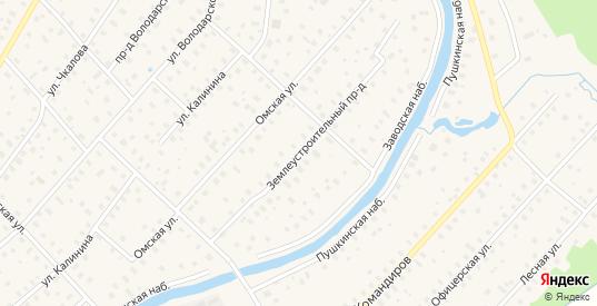 Землеустроительный проезд в Тосно с номерами домов на карте. Спутник и схема онлайн