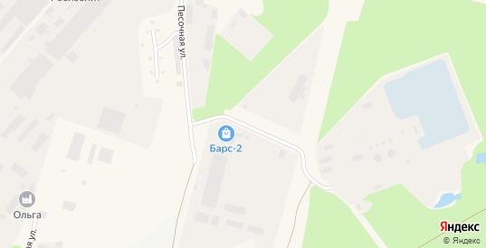 Песочная улица в Кировске с номерами домов на карте. Спутник и схема онлайн