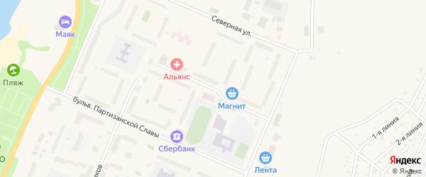 Молодежная улица на карте Кировска с номерами домов