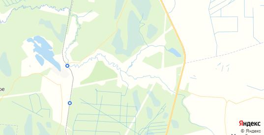 Карта массива Келколова-3 Ленинградской области с районами, улицами и номерами домов
