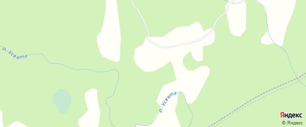Карта деревни Степанцево в Псковской области с улицами и номерами домов