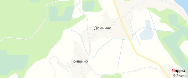 Карта деревни Камено в Псковской области с улицами и номерами домов