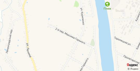 М.Горького 2-й переулок в Велиже с номерами домов на карте. Спутник и схема онлайн