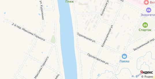 Улица Сакко и Ванцетти в Велиже с номерами домов на карте. Спутник и схема онлайн