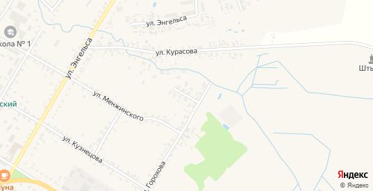 Переулок Горохова в Велиже с номерами домов на карте. Спутник и схема онлайн