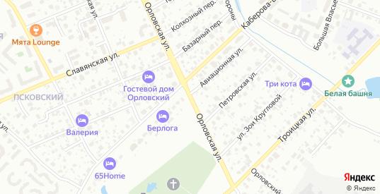 Орловская улица в Великом Новгороде с номерами домов на карте. Спутник и схема онлайн