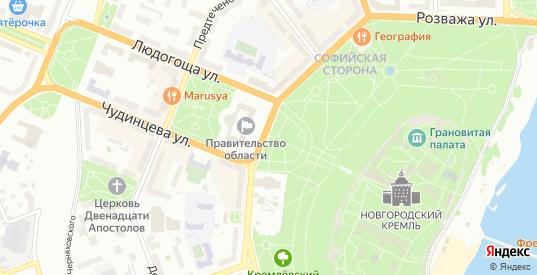 Территория Гэк Облгаз в Великом Новгороде с номерами домов на карте. Спутник и схема онлайн