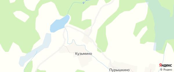 Карта деревни Боброедово в Псковской области с улицами и номерами домов