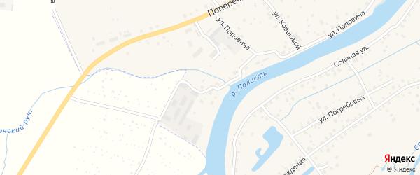 Набережная Энергетиков на карте Старой Руссы с номерами домов