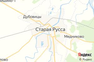 Карта г. Старая Русса Новгородская область