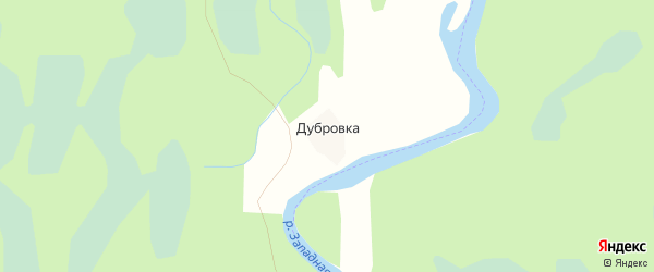 Карта деревни Дубровки в Псковской области с улицами и номерами домов