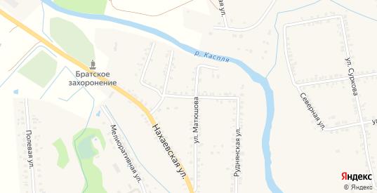 Нахаевский переулок в Демидове с номерами домов на карте. Спутник и схема онлайн