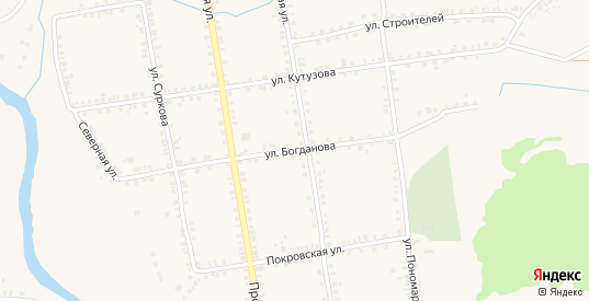 Улица Богданова в Демидове с номерами домов на карте. Спутник и схема онлайн