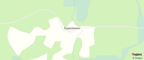 Карта деревни Курилинки в Тверской области с улицами и номерами домов
