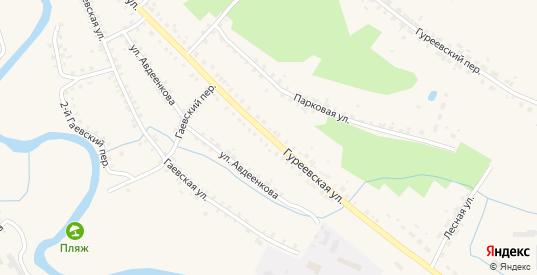 Гуреевская улица в Демидове с номерами домов на карте. Спутник и схема онлайн