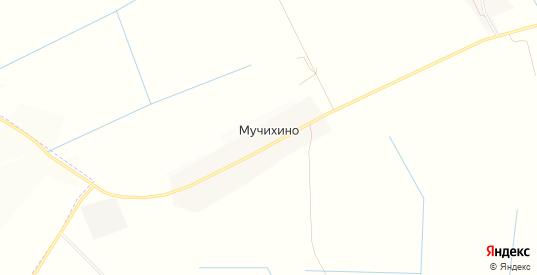 Карта деревни Мучихино в Ленинградской области с улицами, домами и почтовыми отделениями со спутника онлайн