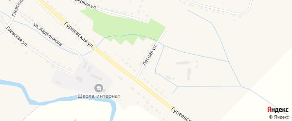 Лесная улица на карте Демидова с номерами домов