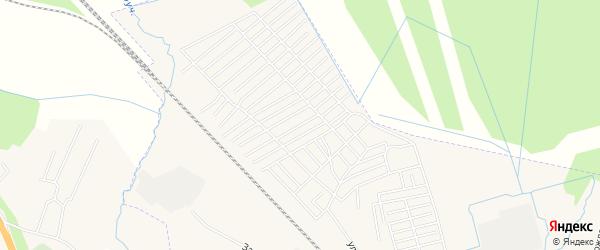 Территория СДТ Клубничка на карте Чудово с номерами домов