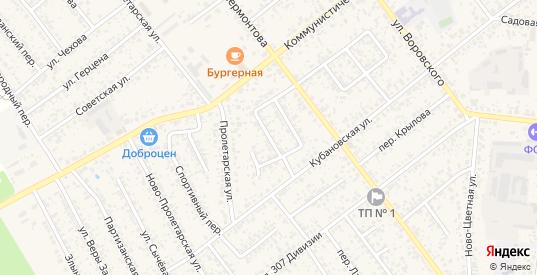 Переулок Гастелло в Новозыбкове с номерами домов на карте. Спутник и схема онлайн
